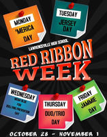 Red Ribbon Week 10/28 - 11/01